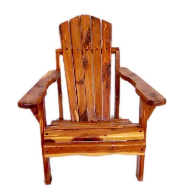 Childs Cedar Adirondack Chair IndoorOutdoor Childs Chair
