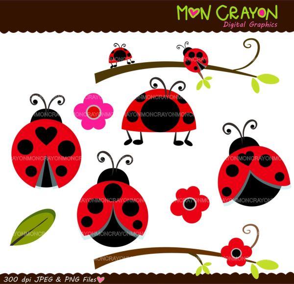 ladybug digital clip art lady bug