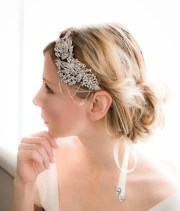 1920s gatsby hairband vintage bridal