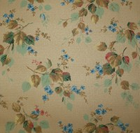 1930's Vintage Wallpaper Antique Floral and by ...