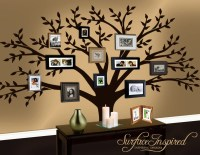 Wall Decal Family Tree Decal by SurfaceInspired on Etsy