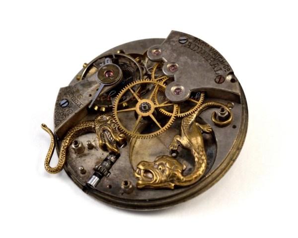 Steampunk Art Print 8x10 Clock Gears Cogs