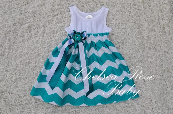Gorgeous Chevron Baby And Toddler Dress