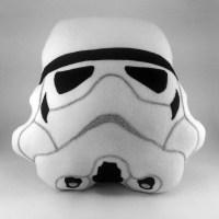 Storm Trooper Pillow Star Wars Handmade Decorative Helmet
