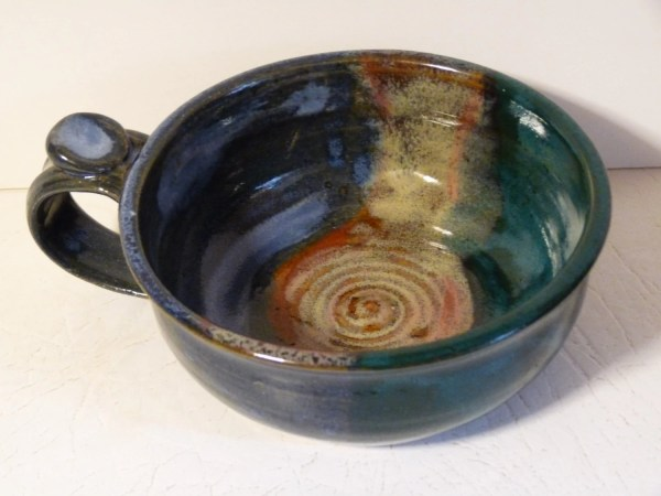 Cup With Handle Pottery Soup Mug Cappuccino Coffee