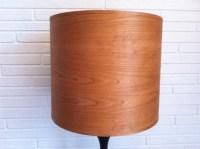 Wood Lamp Shade Cherry Veneer 15 Inch by KenMadeThis on Etsy