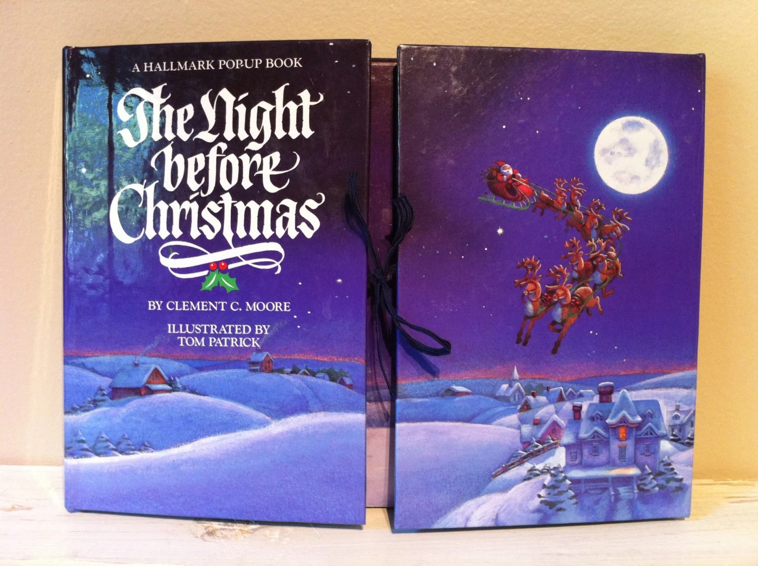 The Night Before Christmas A Hallmark Pop Up Book Clement C