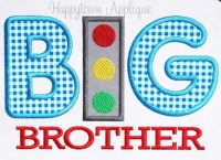 Big Brother Traffic Machine Embroidery Design by ...