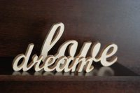Custom made word/sign wooden wall decor wedding or home