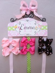 hair bow holder personalized sweet