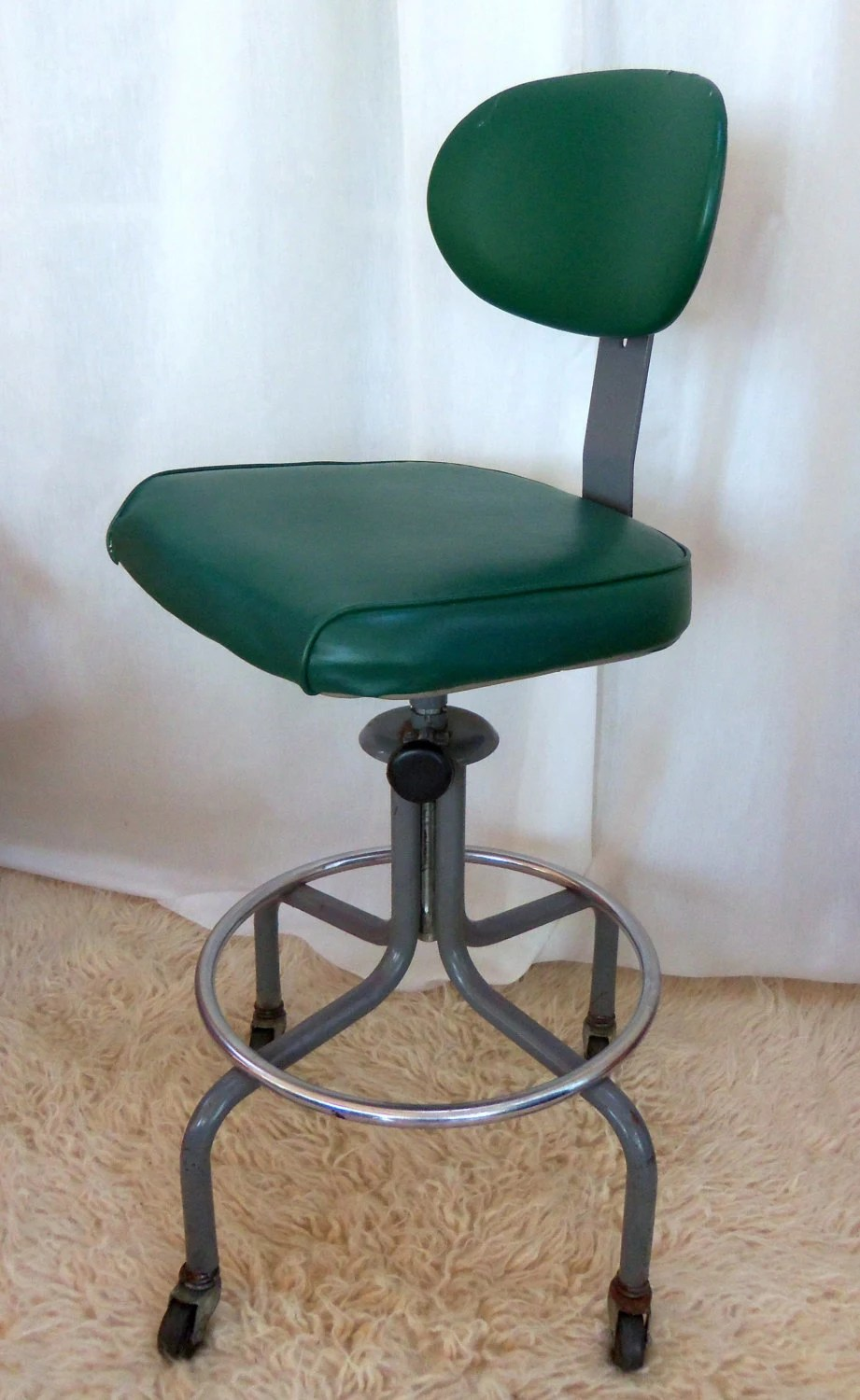 accent chair swivel southwest dining chairs reserved vintage industrial drafting stool machine age royal