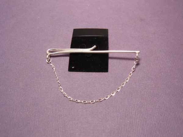 Mens Sterling Silver Tie Chain