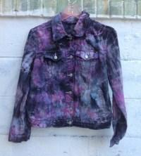Super Cool Tie Dye Denim Jacket