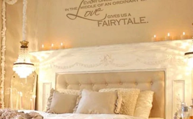 Items Similar To Love Gives Us A Fairytale Vinyl Wall