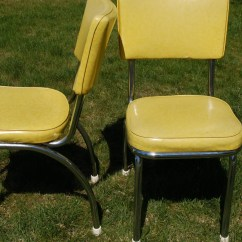 Retro Chrome Chairs Kodex Chair Accessories Pair Of Douglas Furniture And Light Lime