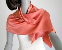 Tangerine scarf | Etsy