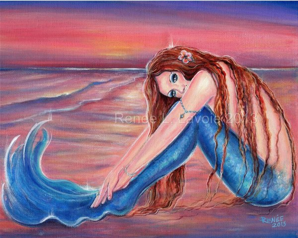 Renee L Lavoie Mermaid