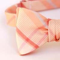sweet peach bow ties & suspenders custom order