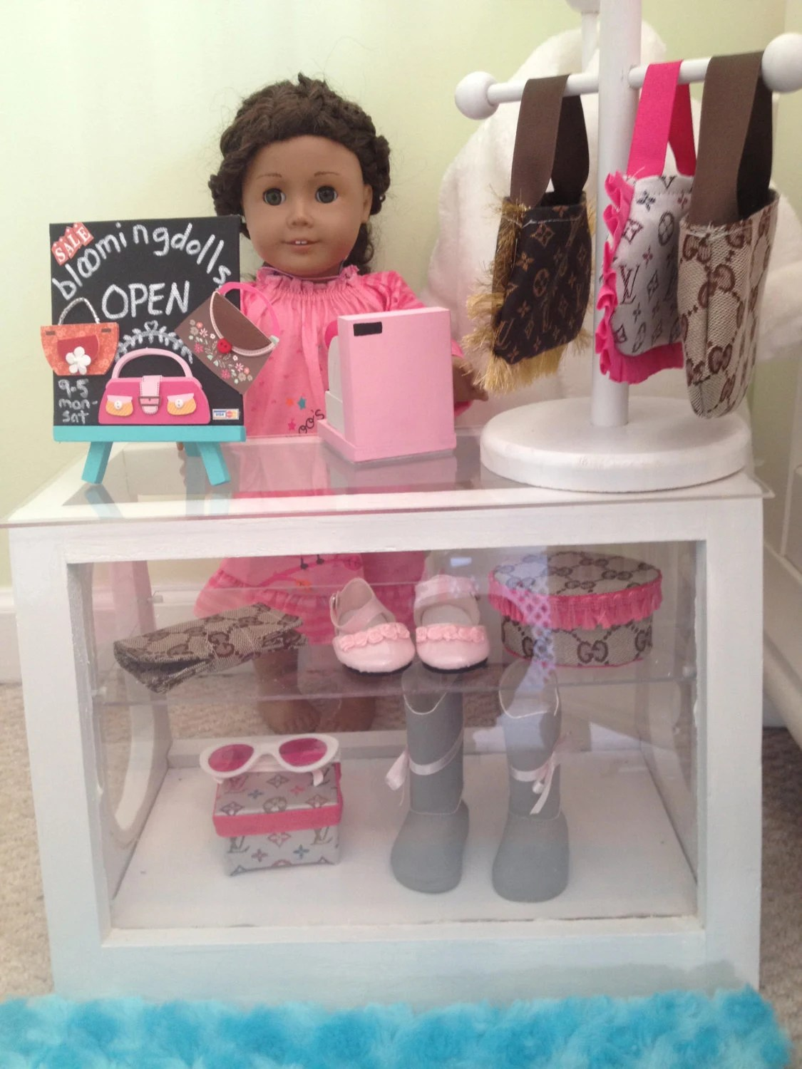 Store display for your American Girl or 18 inch doll