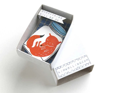 The Instant Comfort Pocket Box - sleeping fox - kimslittlemonsters