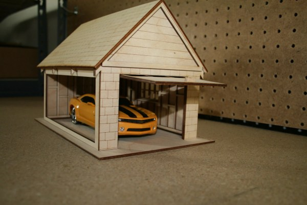 12 scale Dollhouse Garage Kit by VictorianDollhouse on Etsy