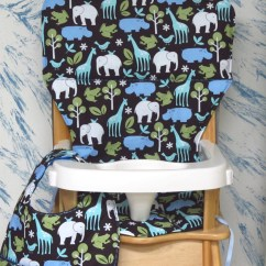 Graco Duodiner High Chair Cover Replacement Giant Bean Bag Canada Eddie Bauer/jenny Lind By Sewingsilly
