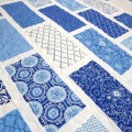 Baby boy quilt modern baby quilt spa deb by nowandthenquilts