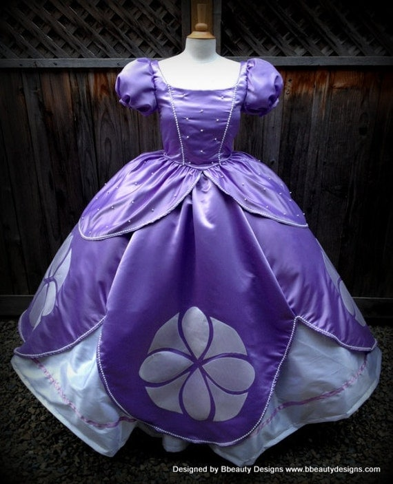 Sofia the First Princess Inspired Dress Gown by BbeautyDesigns