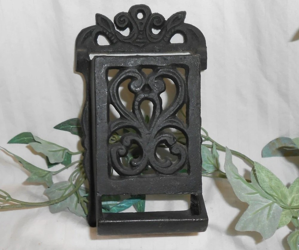 cast iron kitchen stove tabletops vintage match holder wrought