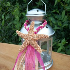 Starfish Wedding Chair Decorations Covers Canada Beach Decor Small Lantern Hangers