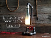 Vintage Industrial Pipe Lamp Faucet Switch Industrial