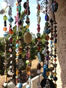 Boho Decor Bohemian Inspired Mobile Suncatcher Hanging