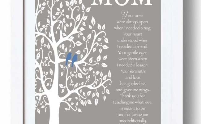 Mom Gift Print Personalized Mother Gift Mother S Day