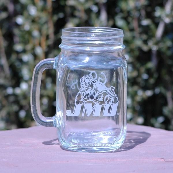 Jmu 16oz Mason Drinking Jar