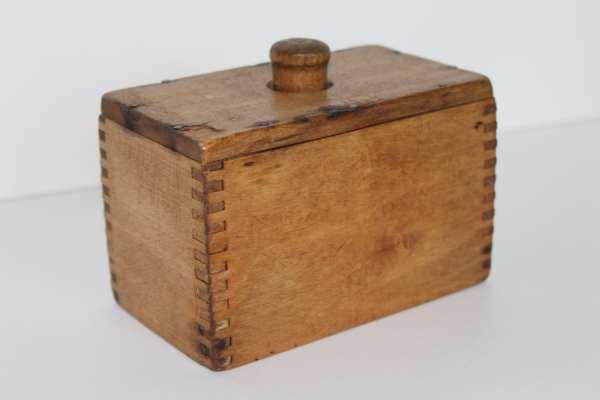 Vintage Wooden Butter Molds Antique
