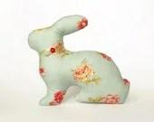 Easter Bunny Home Decor - Green Rabbit Eco-Friendly - Sleepy Soft Toy - Holiday Gift Decorations - VasilinkaStore