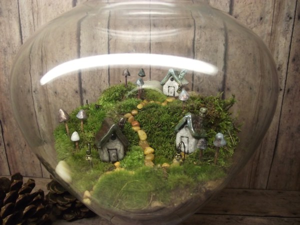 beautiful miniature landscape large