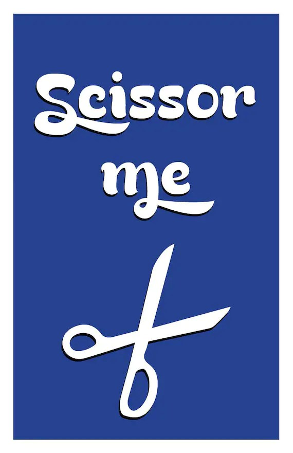 The Office - Scissor Me - Poster Wall Art DIY Printable PDF