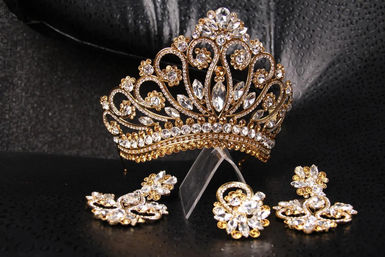 Big Tiaras And Crowns Perfect H Beauty Jewelry Rhinestone