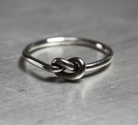 Knot Ring Promise Ring Best Friends Ring by JenniferWood ...