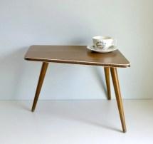 Mid Century Modern Tripod Coffee Table Atomic Mungoandmidge