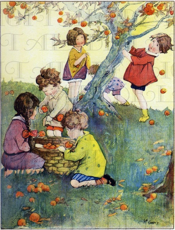 apple picking time. deco children's