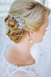 crystal bridal hair comb swarovski