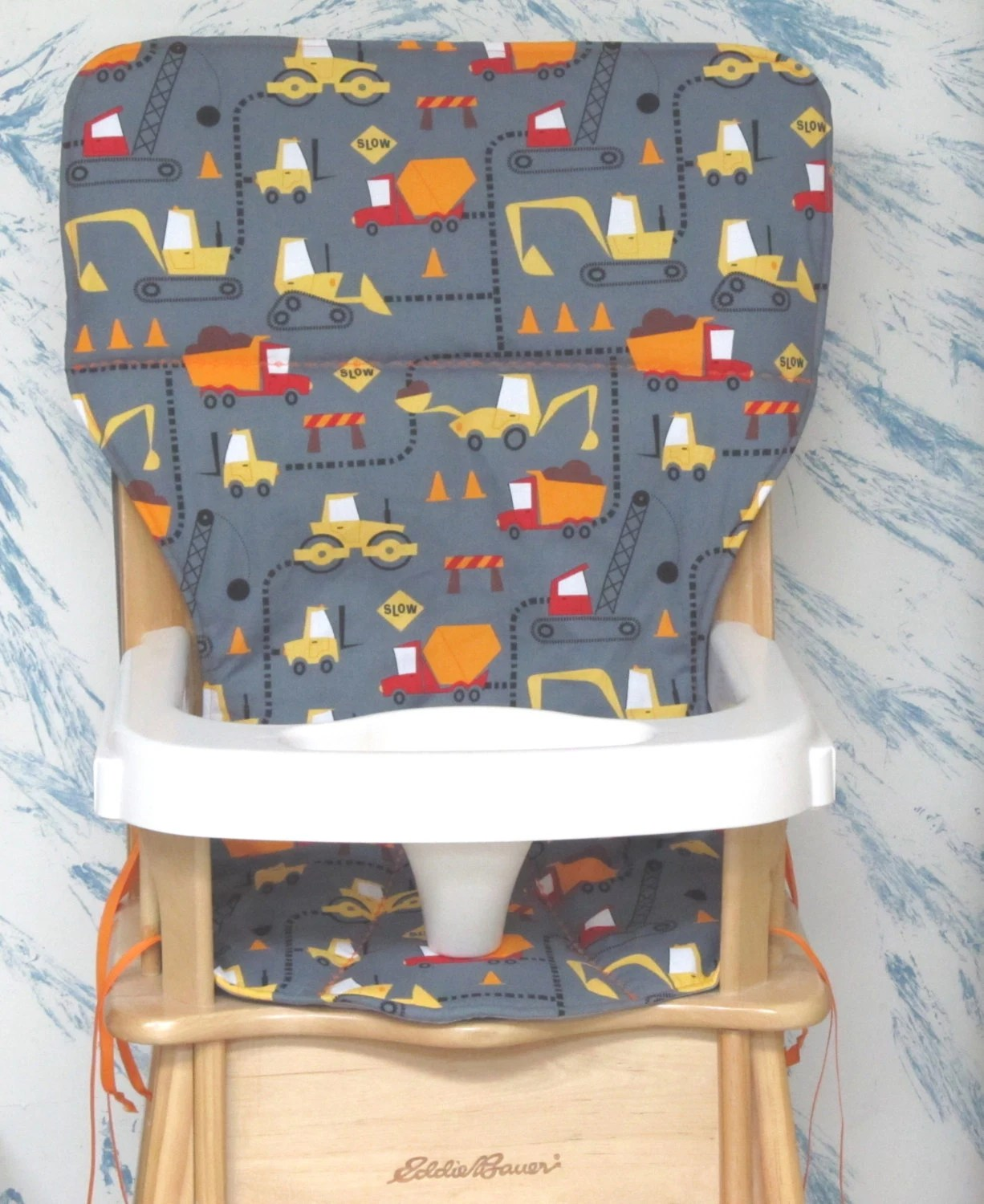 eddie bauer high chair replacement tray hanging pod chairs australia jenny lind wood cover pad cone zone