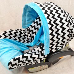 Chair Covers For Baby Fuzzy Office Chevron Infant Seat Cover Car By Ritzybabyoriginal