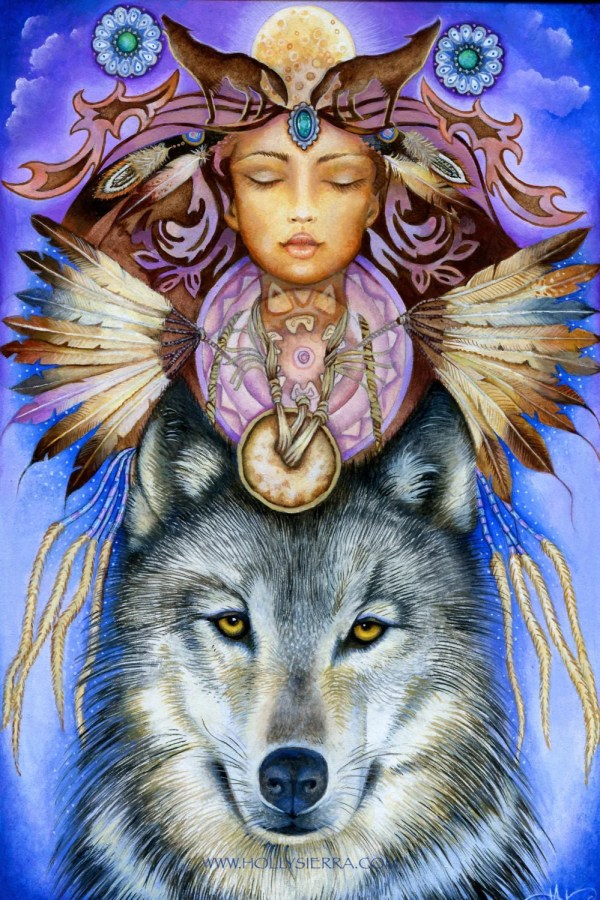 Wolf Spirit Native American Shapeshifter
