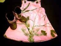 Baby Dress and matching Cowboy Boots Real Tree Pink Camo ...