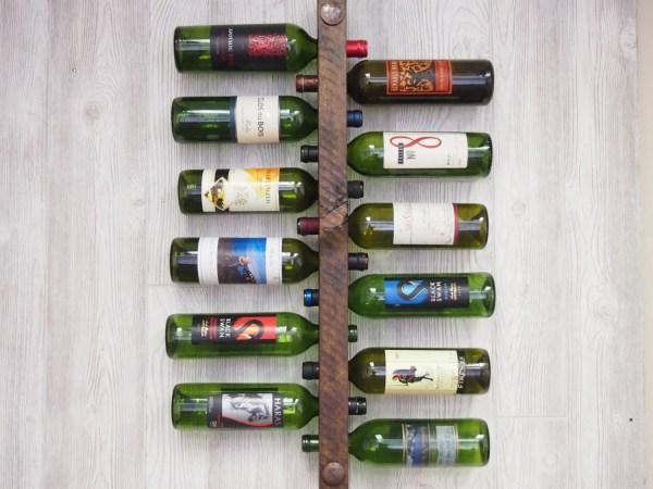 Vertical Wine Bottle Rack
