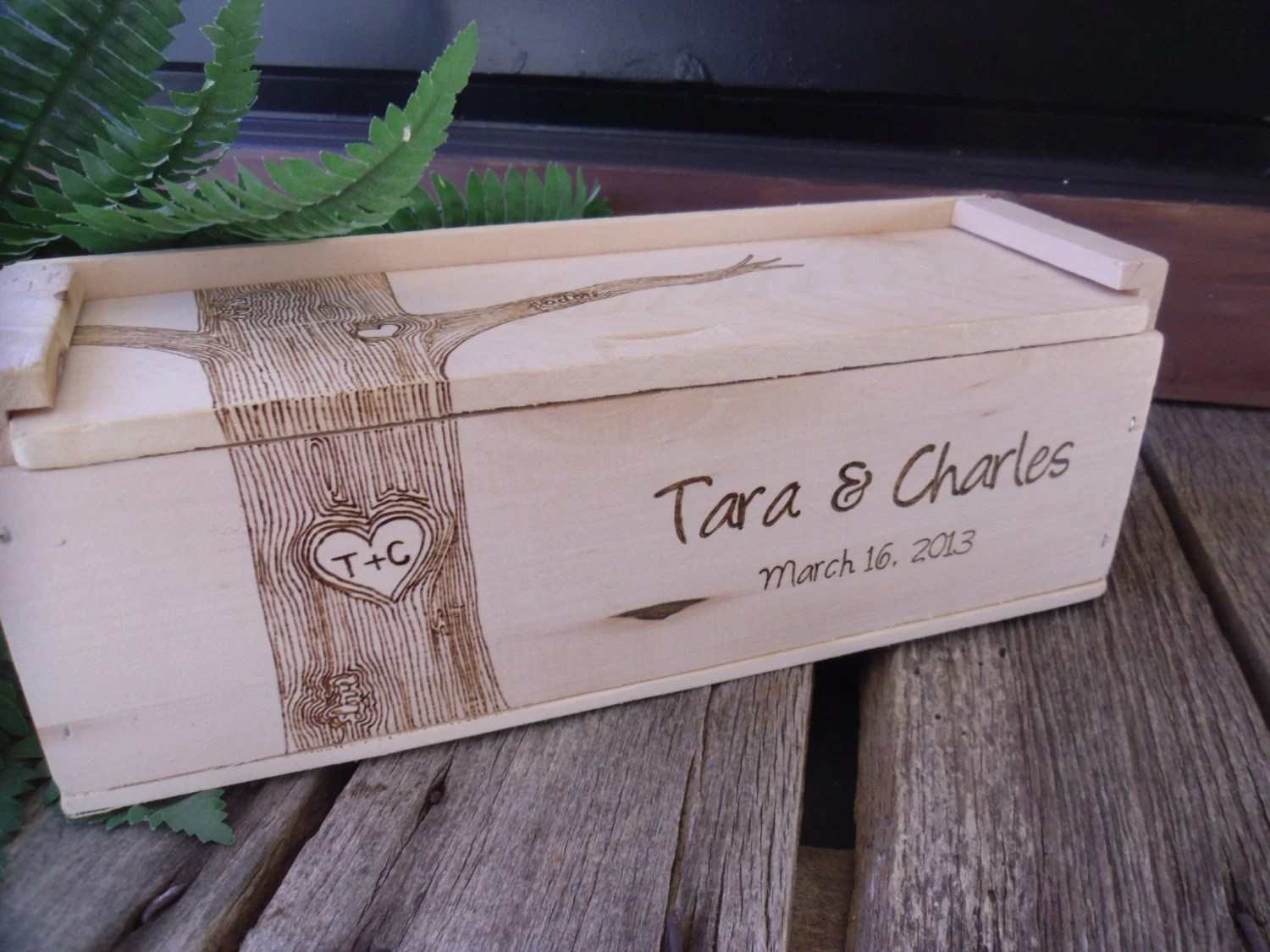 Wine Box Wedding Wine Box Gift For Bride And By