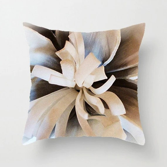 Pillow Cover Dahlia 16x16 18x18 20x20 Home Dcor